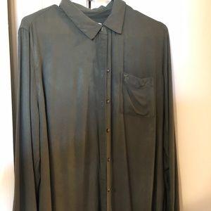 Button up shirt long sleeve